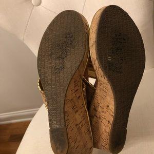 Jack Rogers Shoes - Jack Rogers Marbella Mid Cork Wedges